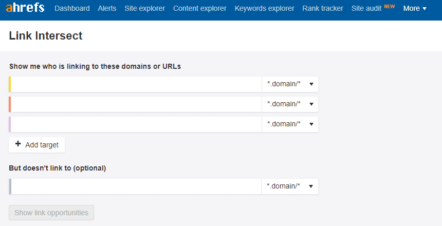 Ahrefs - analiza backlinków
