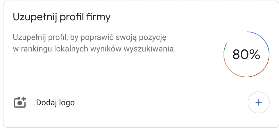 Google Moja Firma -uzupełnij profil firmy