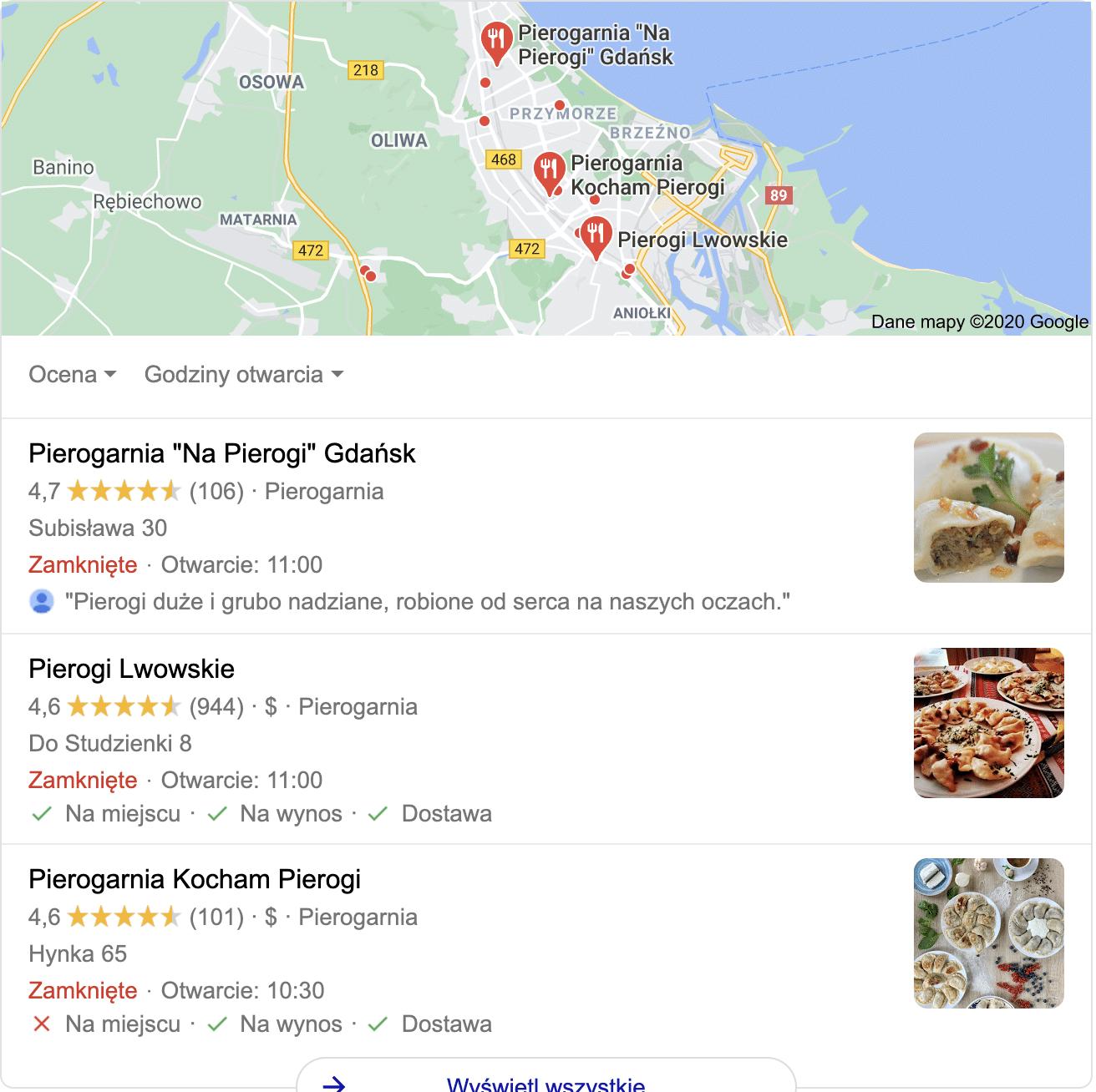 Efekt pozycjonowania lokalnego w Gdańsku